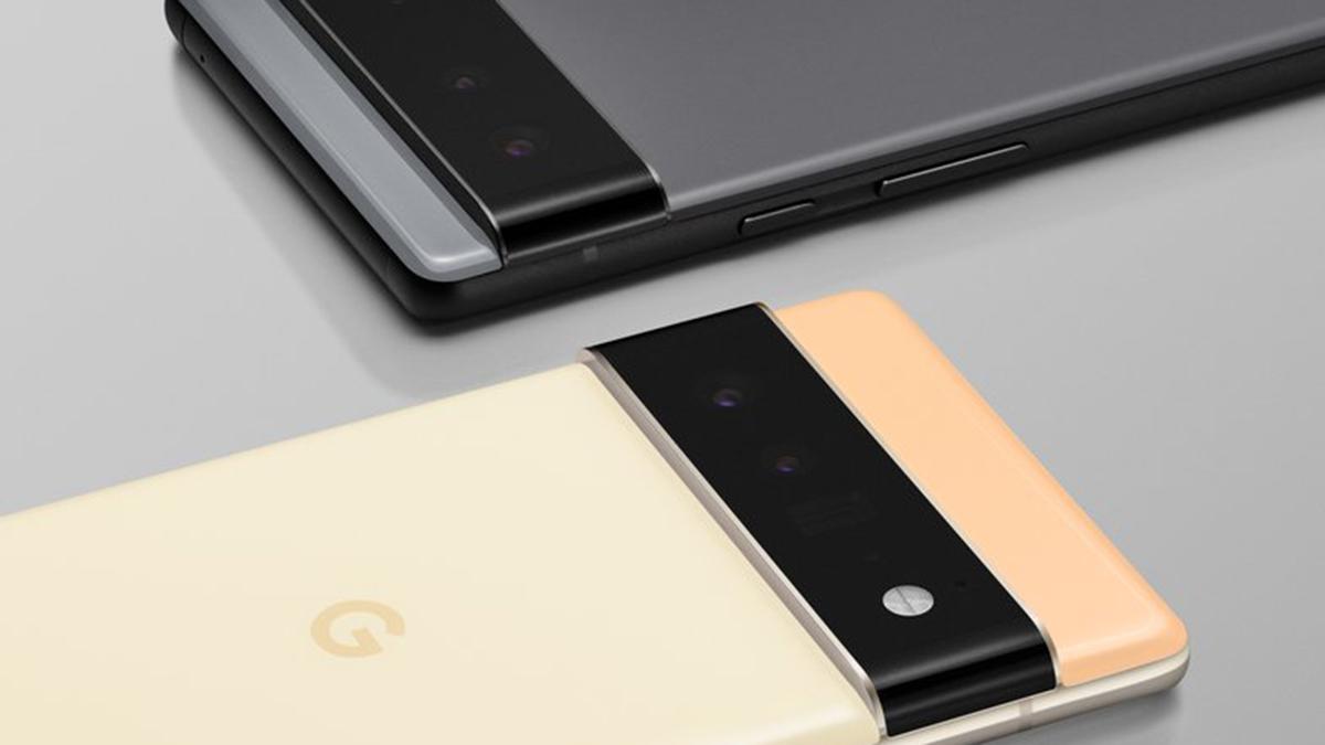 Google Pixel 6 with Tensor