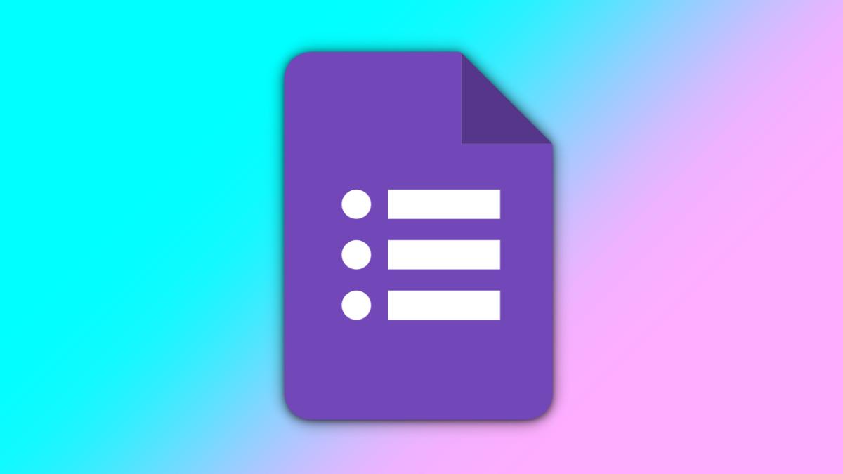 The Google Forms (2020) Logo