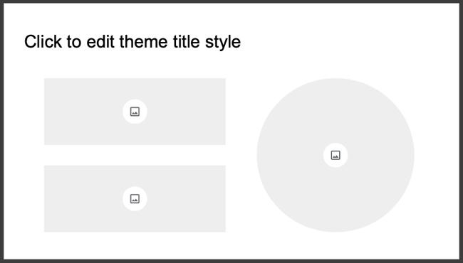 Image placeholders in Google Slides