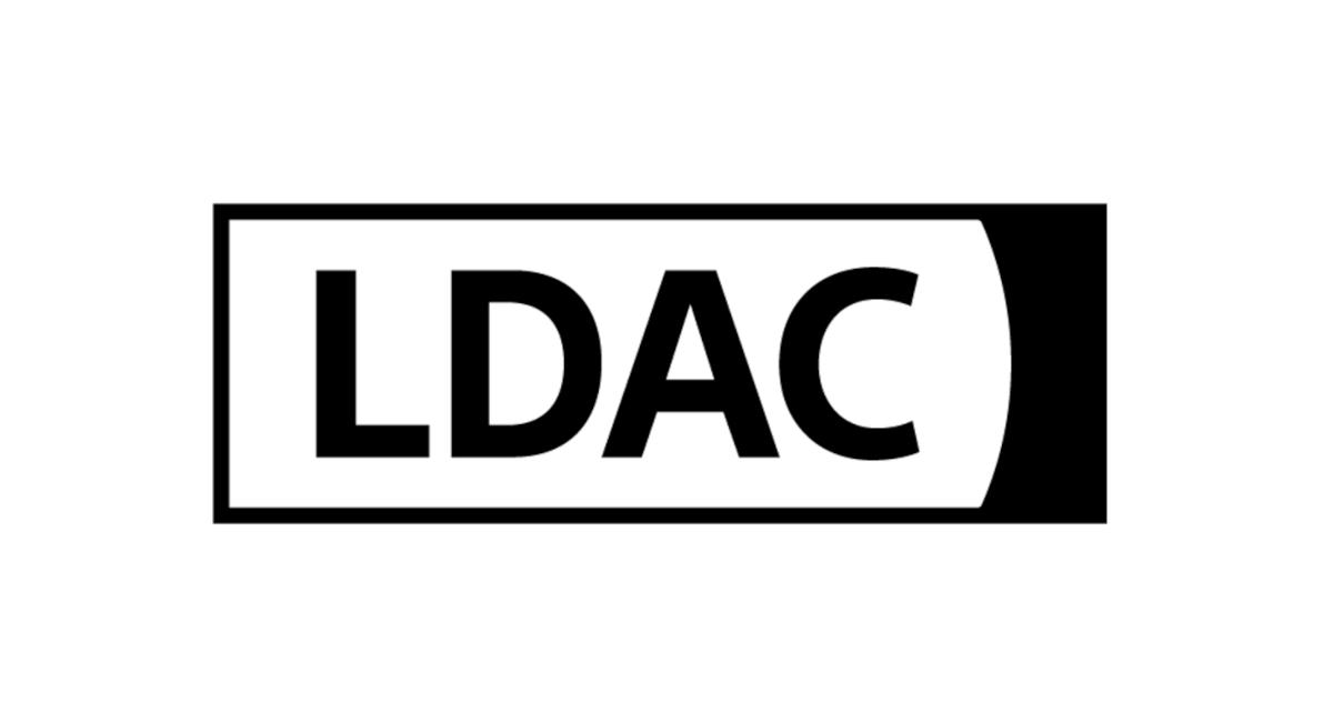LDAC on a white backdrop