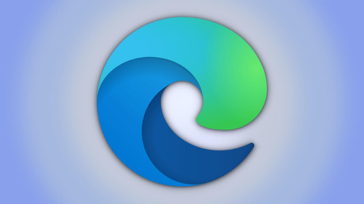 A Microsoft Edge browser logo