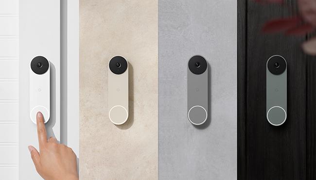 Nest Doorbell color offerings