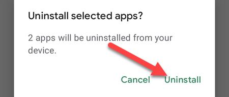 cara hapus aplikasi android sekaligus