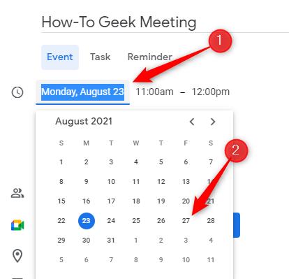 Fissa la data dell'incontro