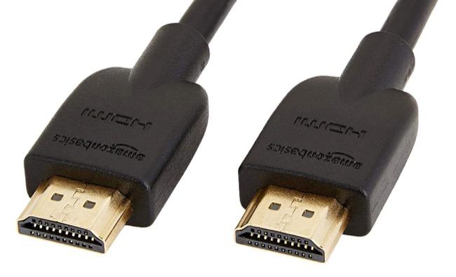 Amazon Basics 18 Gbps HDMI 2.0b Cable