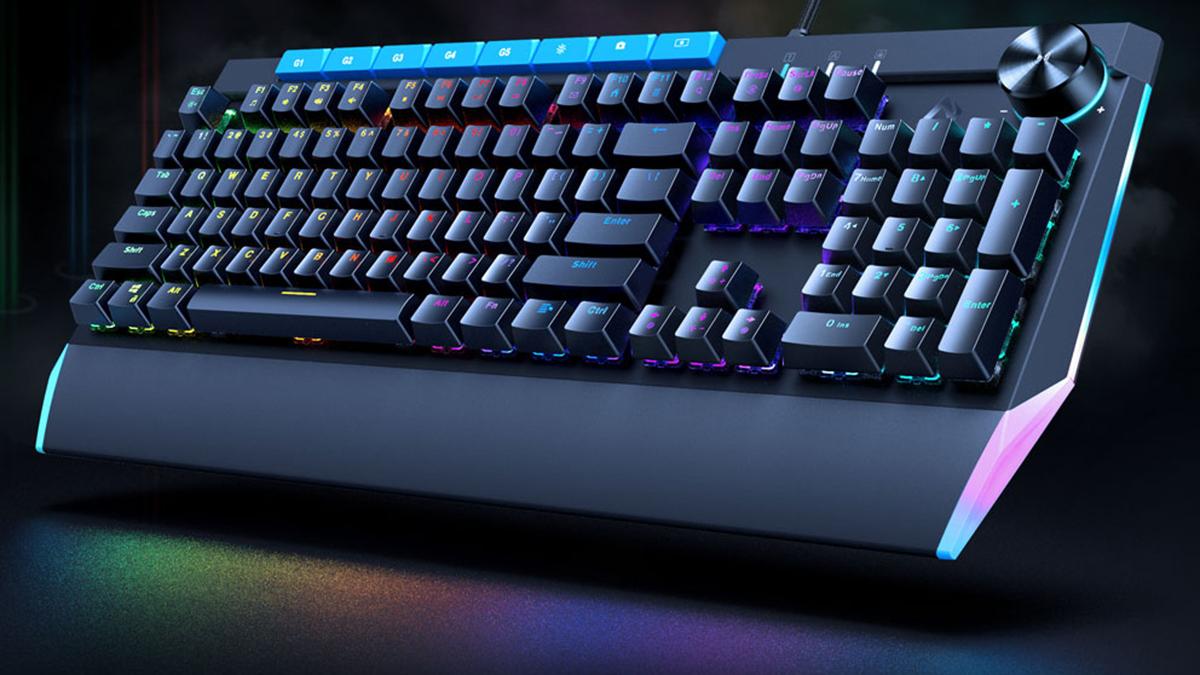 AUKEY KM-G17 104-key Mechanical Keyboard
