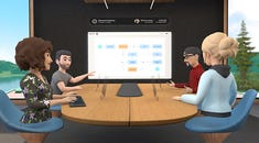 Facebook Launches Free Virtual Reality Meeting Tool