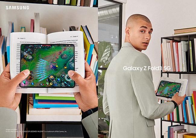 Gaming on Galaxy Z Fold3