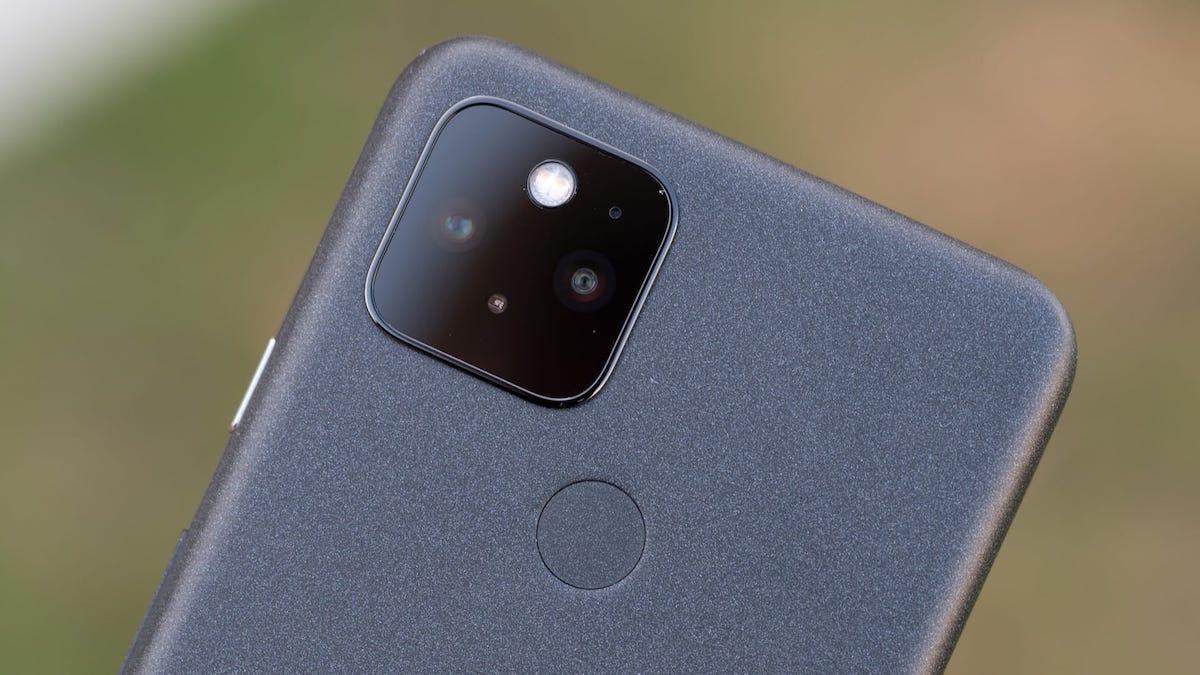 Google Pixel 5 rear cameras