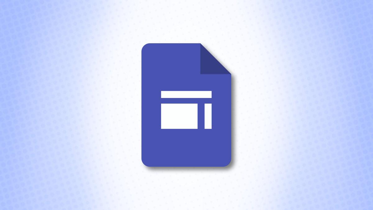 Mavi bir arka plan üzerinde Google Sites Logosu
