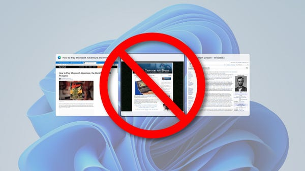 How to Stop Windows 11 from Showing Edge Tabs in Alt+Tab