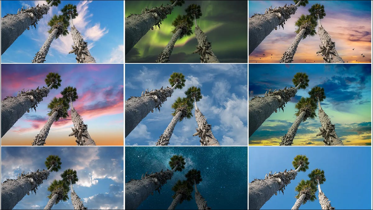 Photoshop sky replacement