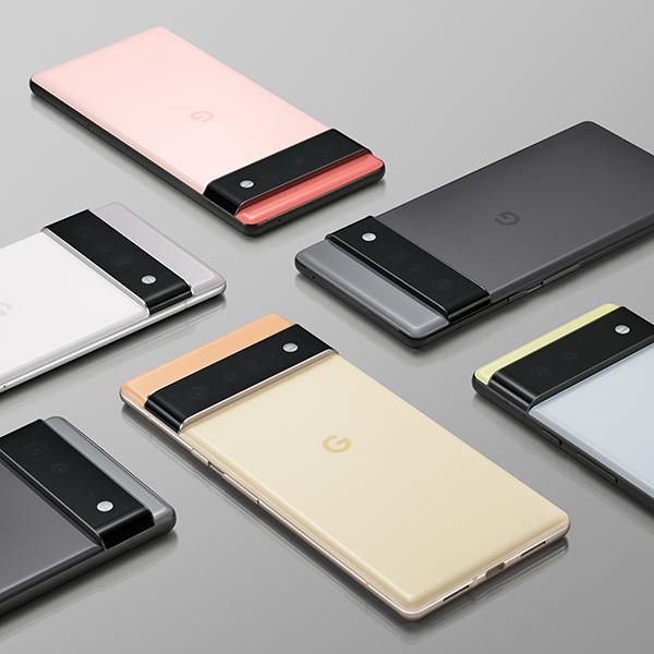 Pixel 6 and Pixel 6 Pro colors