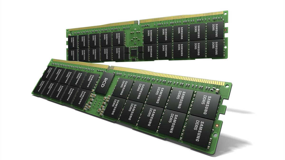 Samsung Teases Absurdly Fast 512GB DDR5 RAM Modules