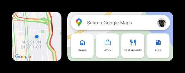 Google Maps Widgets