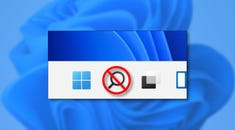 How to Hide the Taskbar Search Button on Windows 11
