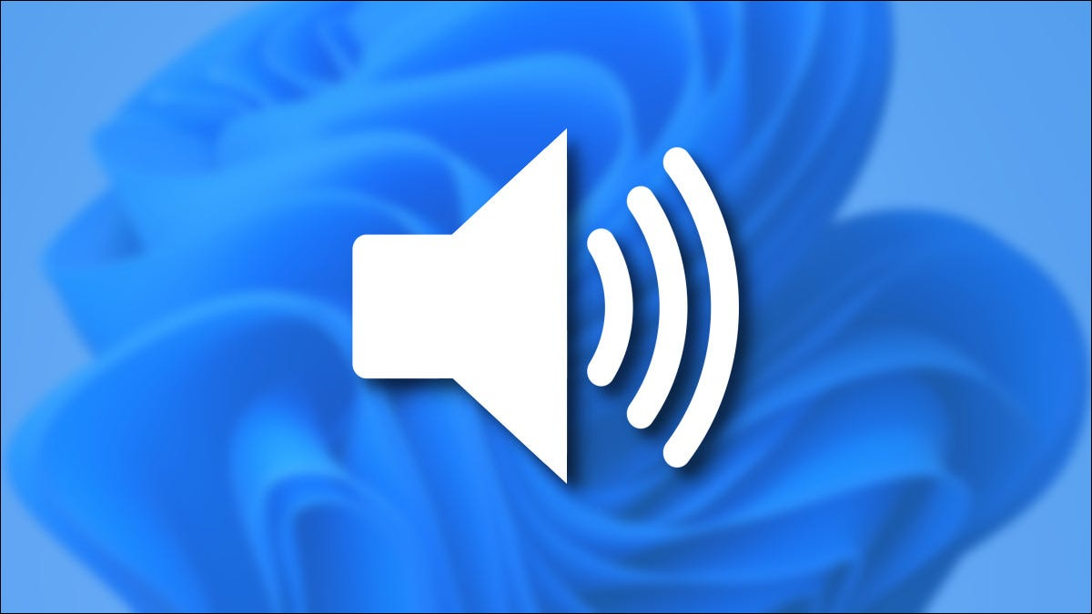 How to change your volume in Windows 11