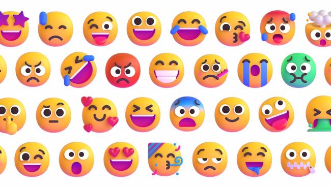 Windows 11 emoji from Microsoft.