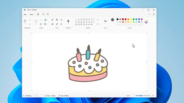 Microsoft Paints Paint With a Fresh Coat of Paint in Windows 11