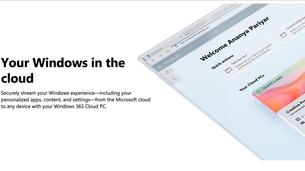Windows 365 descriptive image