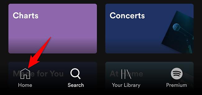 Mobil cihazınızda Spotify