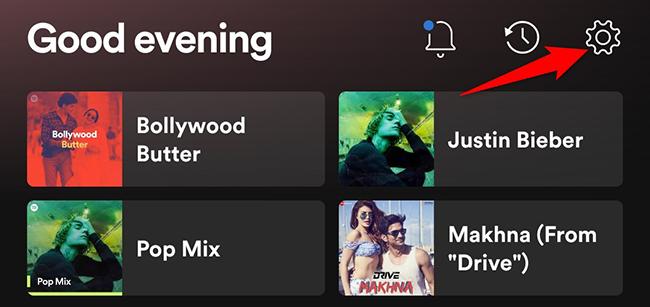 Mobil cihazlarda Spotify