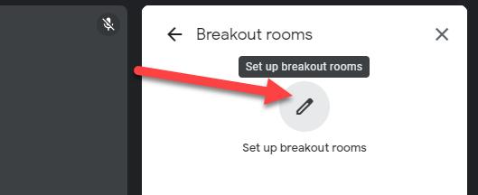 """Click """"Set Up Breakout Rooms."""""""