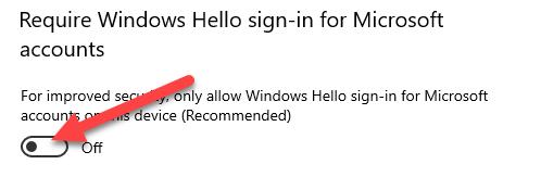 Turn off Windows Hello.