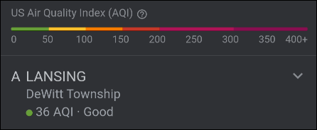 Air Quality info