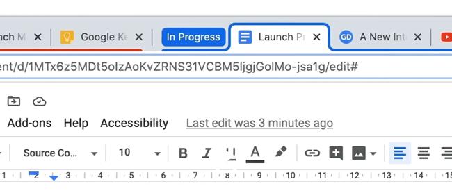 Chrome'da Sekme Grupları