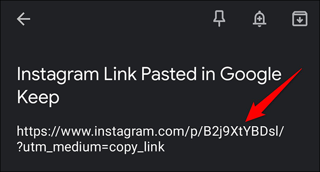A link to a photo on Instagram.