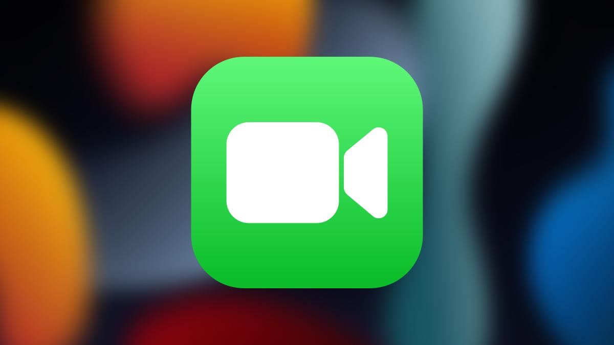 FaceTime on iOS 15 wallpaper.