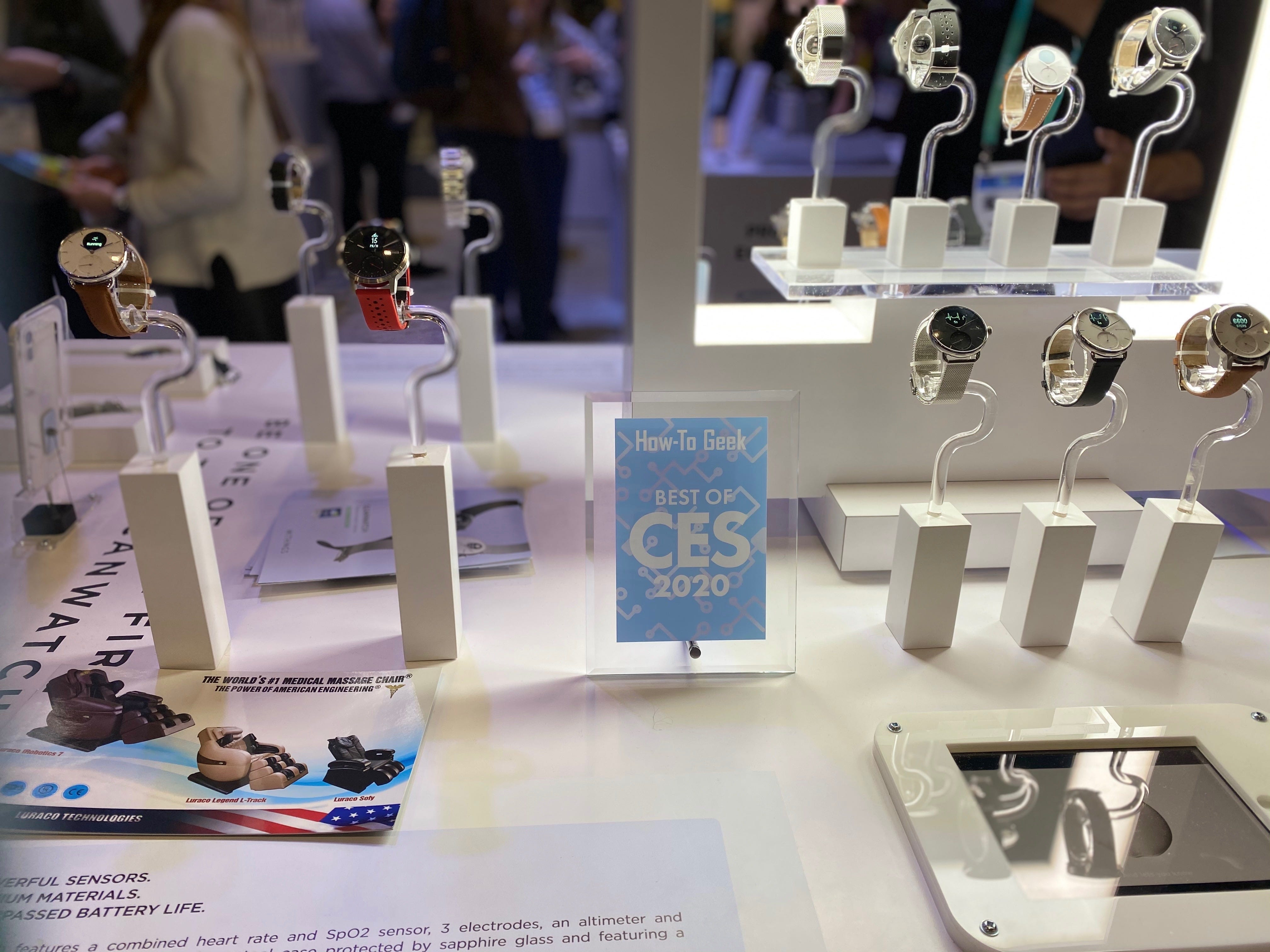 How-To Geek Best of CES 2020 Wearable: Withings ScanWatch