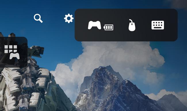 Notifica quando tastiera e mouse sono collegati a PS5