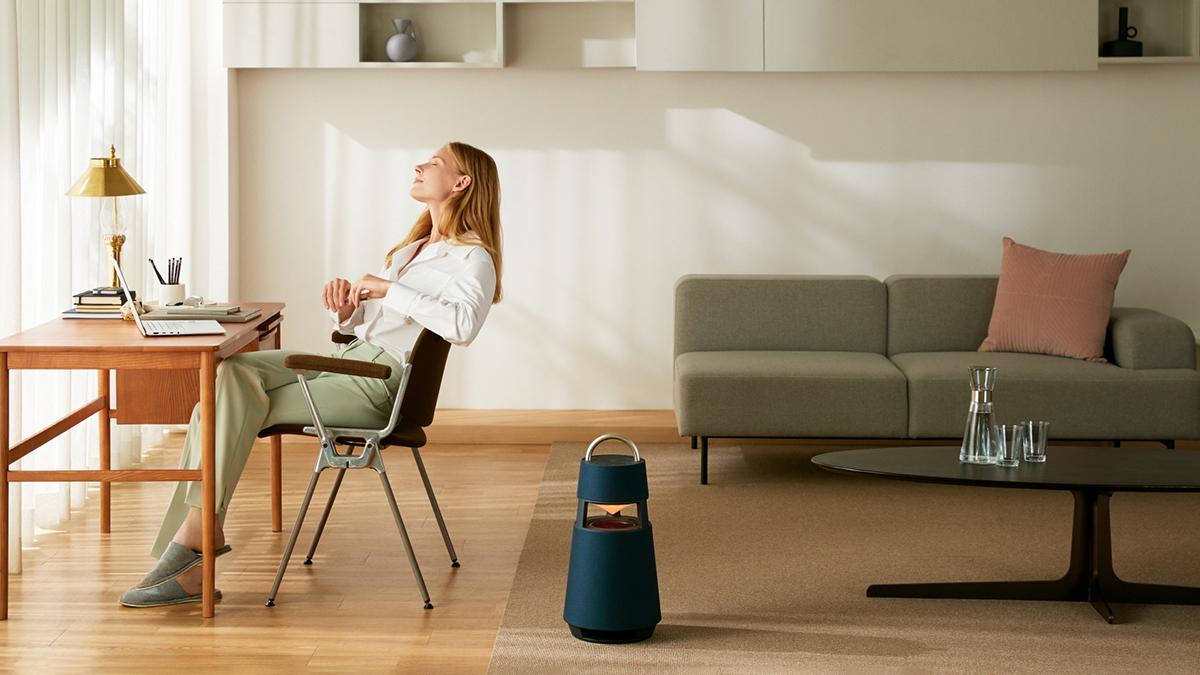 LG's New XBOOM 360 Speaker Is Also a Lantern
