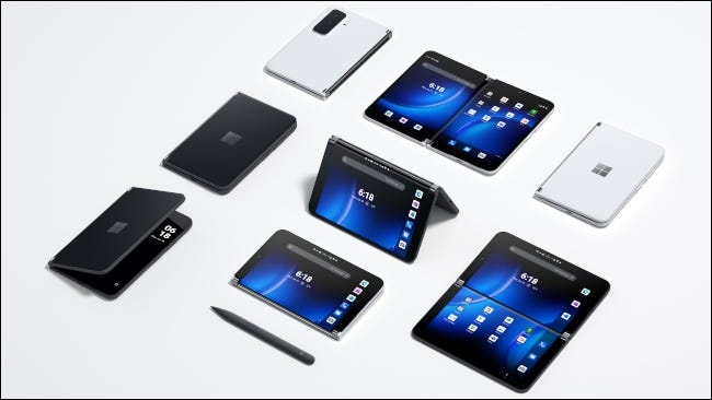 Surface Duo 2 modes