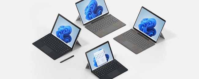 All the New Surface PCs Microsoft Announced for Windows 11