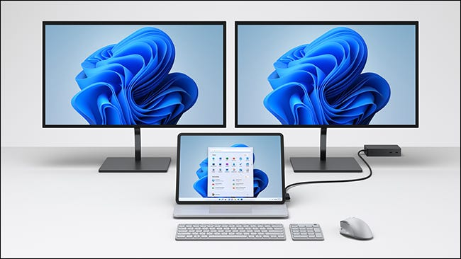 Surface Laptop Studio workstation