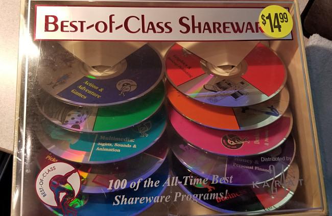"""Best-of-Class"" Shareware CD Collection"