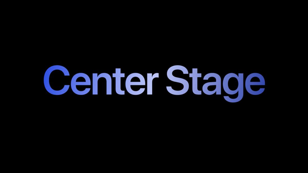 Apple Center Stage logo