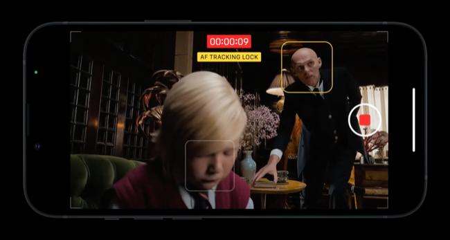 Cinema mode on iPhone 13