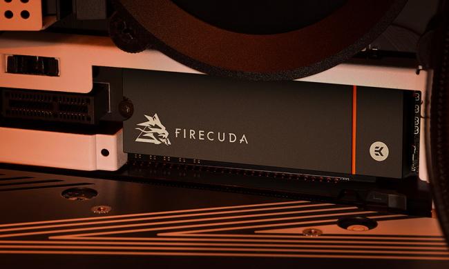 Firecuda SSD installed in machine