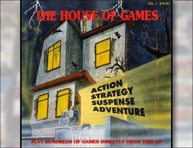 The House of Games Shareware CD Cover