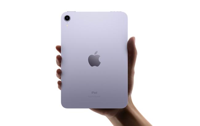 iPad mini 2021 rear-facing camera