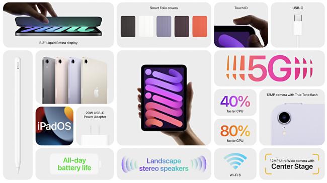 iPad Mini 2021 Features