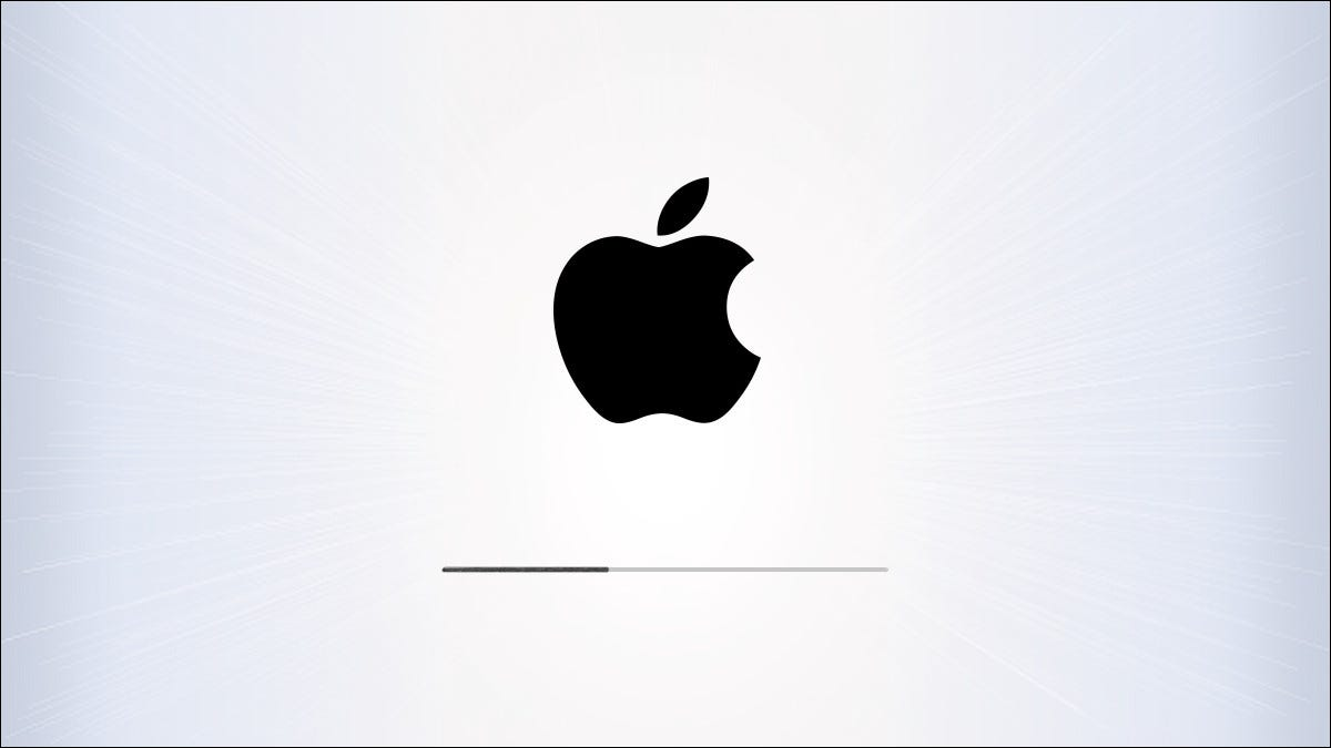 Apple iPhone and iPad update screen