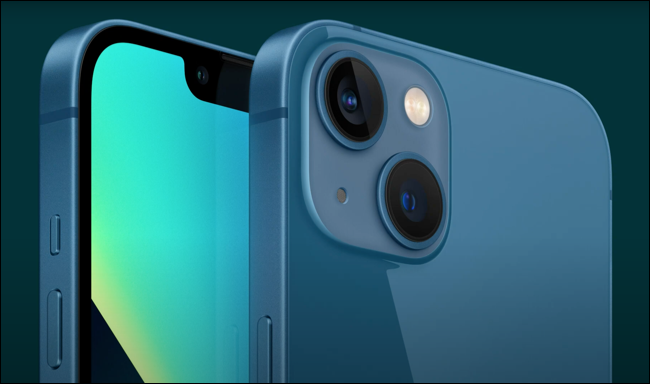 Large view of the new iPhone cameras.