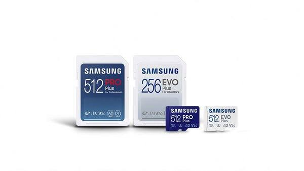 Samsung's New SD Cards Offer up to 120MB/s Write Speed