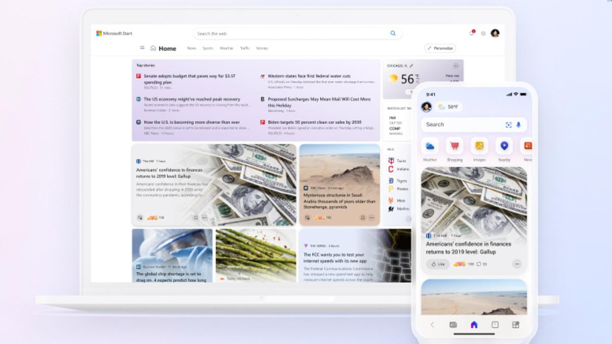Microsoft Start Kicks Microsoft News to the Curb