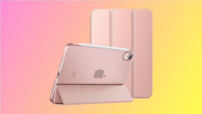 rose gold moko case on pink background